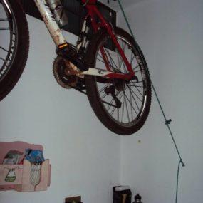 Bike no Teto por Rafael Damini