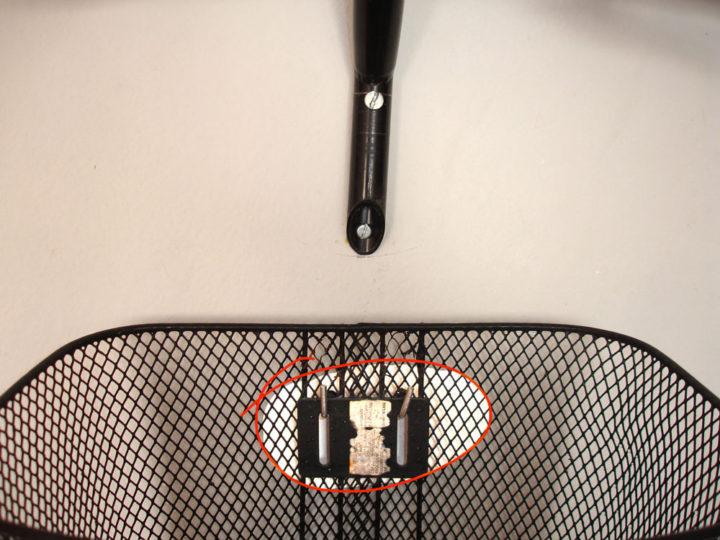 Decore sua casa com uma bike velha : Guidon passo 5, guidon e cestinha