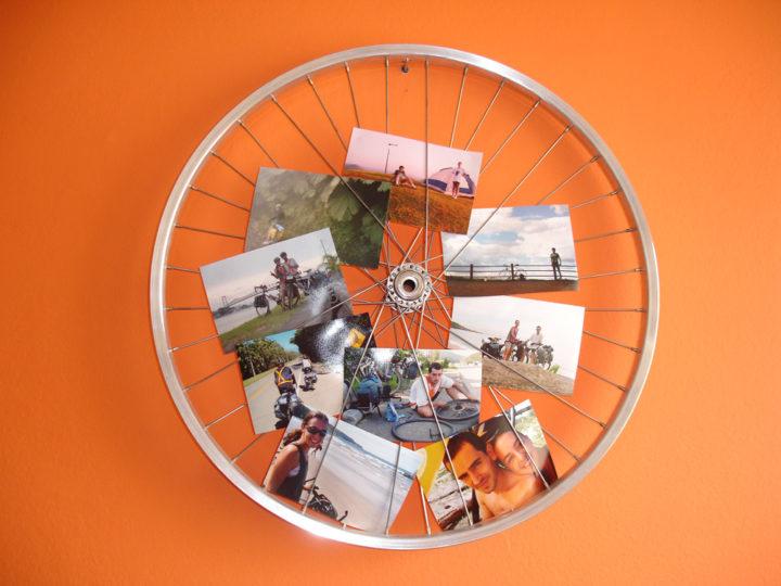 Decore sua casa com uma bike velha