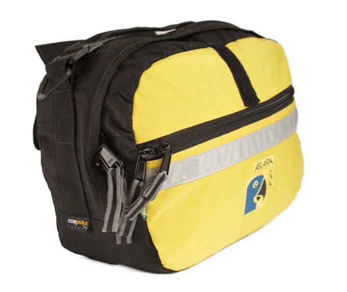 Bolsa Guidão 7L Amarela