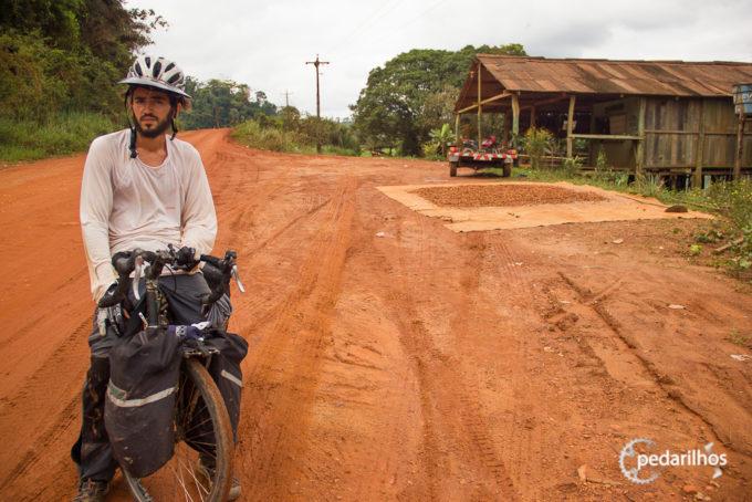 Mais de 1500Km pedalados também na Transamazônica com os Alforges Alpamayo.