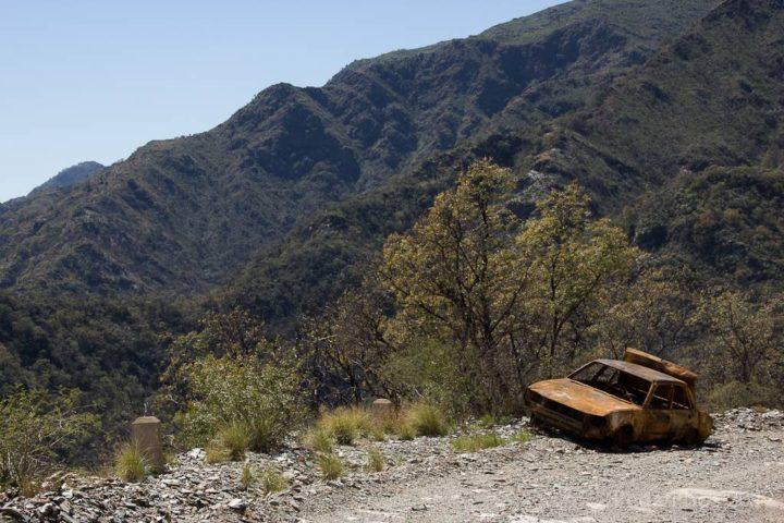 Travessia por Los Gigantes à Planície Seca de La Rioja