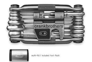 Multi ferramentas M19 Crank Brothers Prata