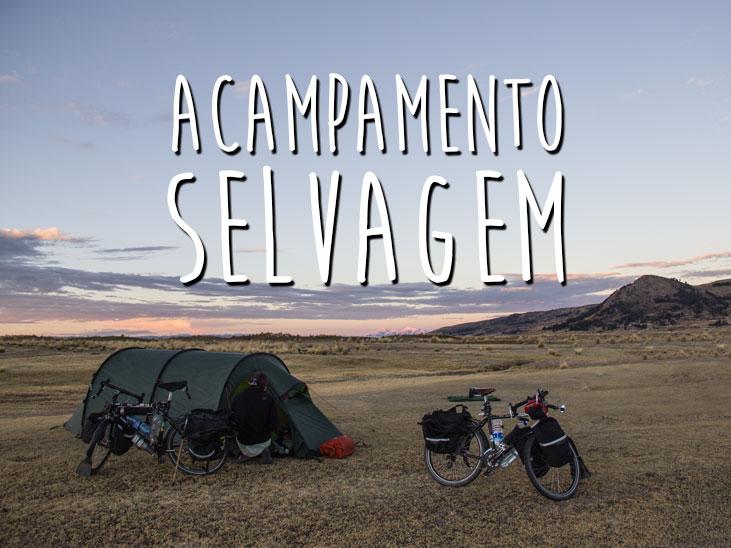 acampamento selvagem
