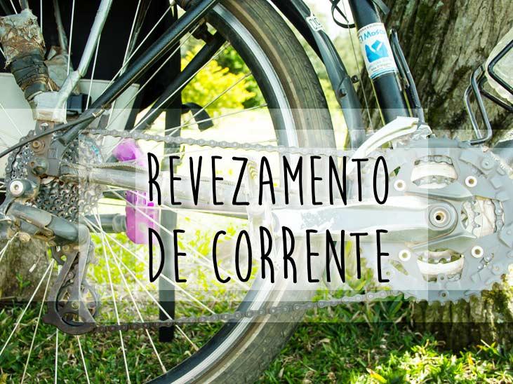 Revezamento de corrente de bike