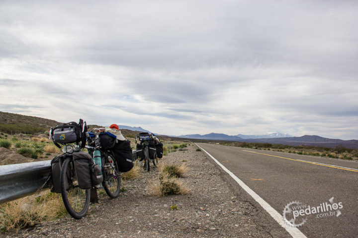 Alforges Alpamayo viajando na Argentina