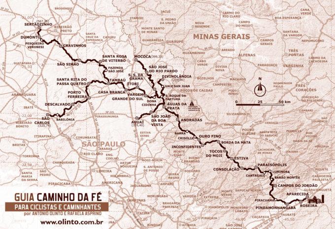 Guia Caminho Da Fé para ciclistas e caminhantes-1160