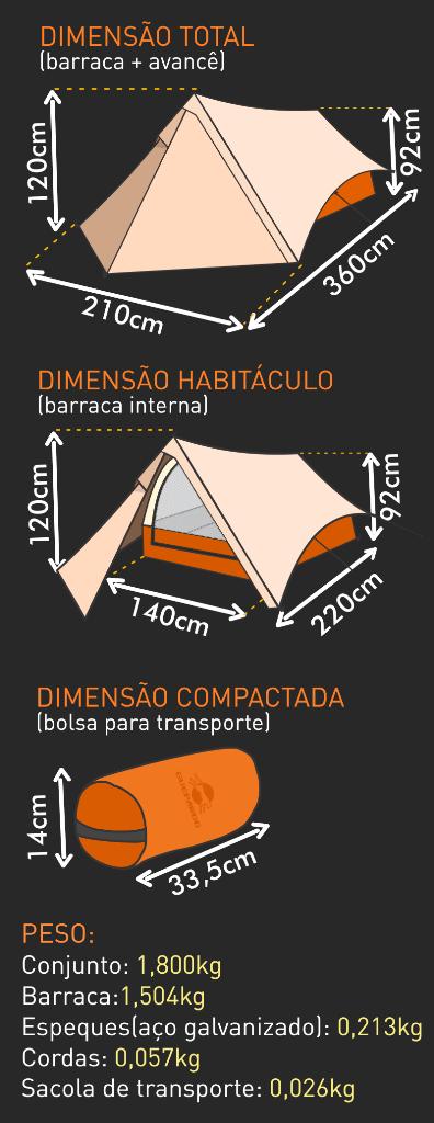 Barraca Trekking 2 Guepardo-1268