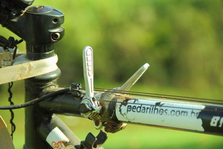 Recomendação Bicicleta Cicloturismo: Trocador Rústico, alavanquinhas!