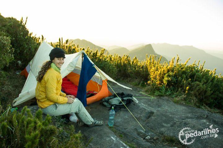 Barraca Trekking 2 Guepardo no cume do Pico Paraná