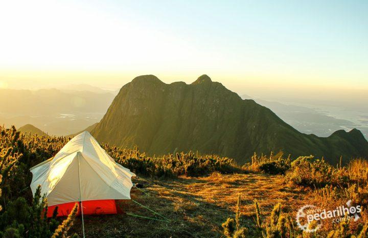 Barraca Trekking 2 Guepardo no Pico do Caratuva