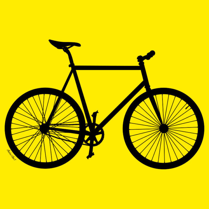 Estampa Bicicleta