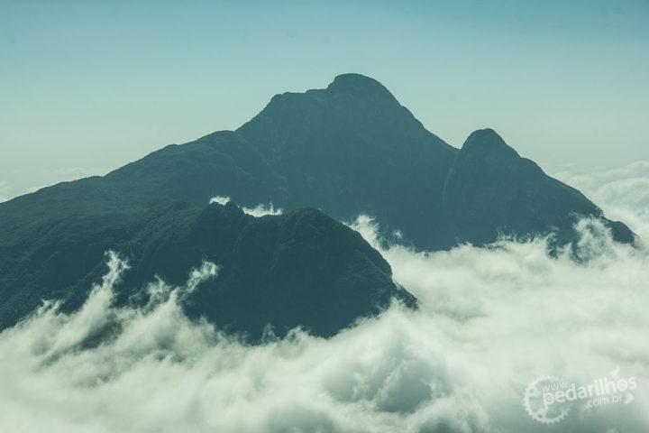 Pico Paraná desde o Ciririca
