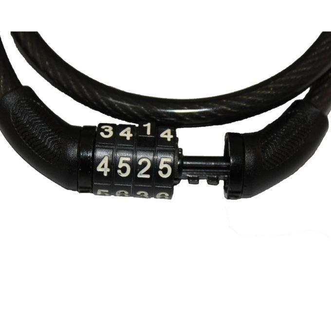 Cadeado de cabo de aço para Bicicleta com segredo 65cm x 8mm Elleven