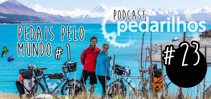 #23 - Pedais pelo Mundo #1 - Nova Zelândia -Podcast Pedarilhos