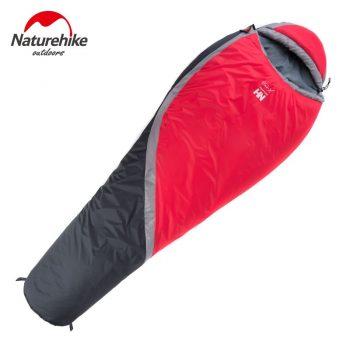 Saco de dormir Naturehike XLite 300 0ºC Vermelho
