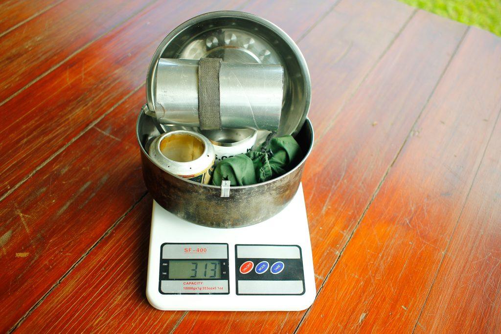 Kit de cozinha outdoor ultraleve
